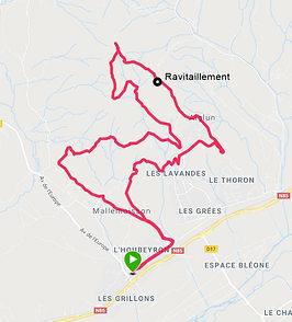 Trail des cathelieres - Aiglun - Mallemoisson