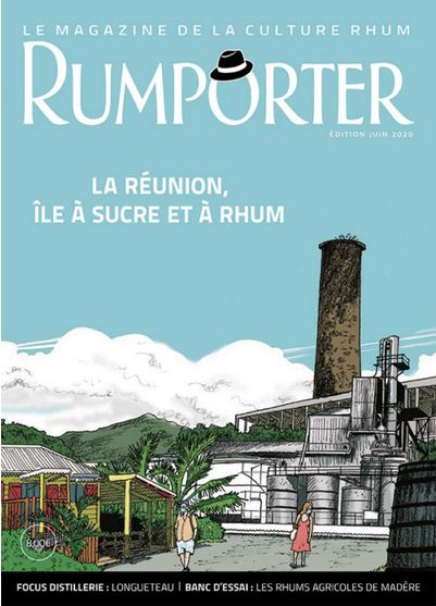 Couverture du magazine Rumporter