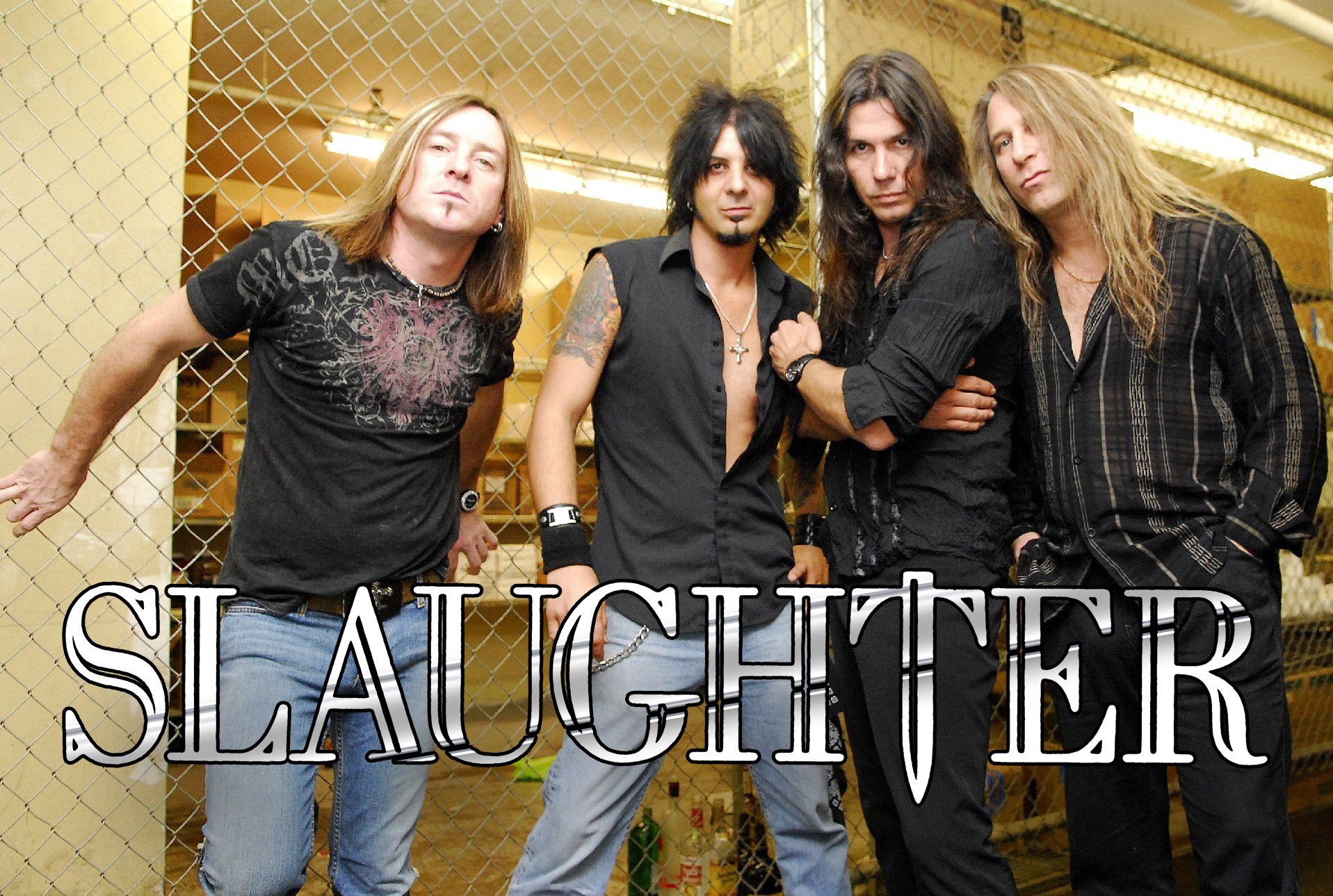 Slaughter Band Photo I logo
