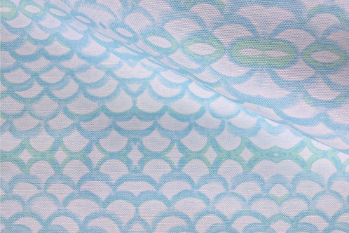 Fish Scales Fabric Swatch
