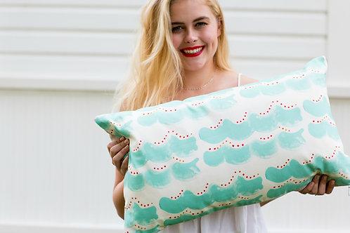 XXL Make Waves Lumbar Pillow