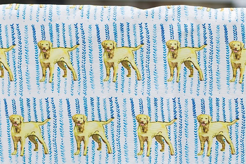 Yellow Labs Fabric Swatch