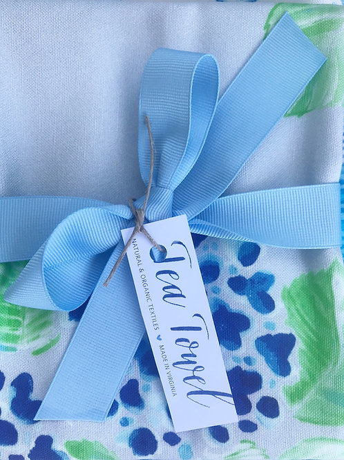 Hydrangeas Tea Towel