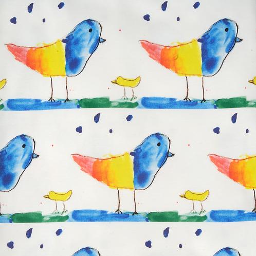 Rainbow Birds Wallpaper - Sample