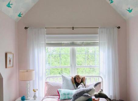 Girl's Room Refresh & Designer Spotlight: Jefferson Street Designs