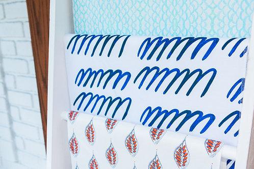 Mmmm in Indigo Fabric Swatch