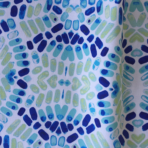 Caribbean Cobblestones Fabric Swatch