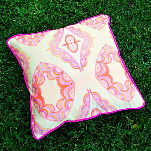 Palatial Peach Pillow