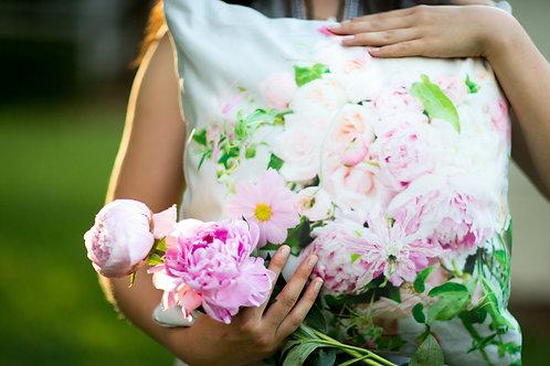 Custom Bridal Bouquet Pillow