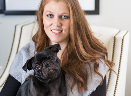 Designer Spotlight: Laura Fox, Principal, Laura Fox Interiors ... and Pug Wallpaper!