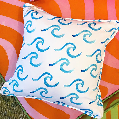 New Wave Order Throw Pillow