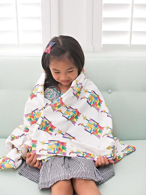 Custom Throw Blanket - Your Child's Art