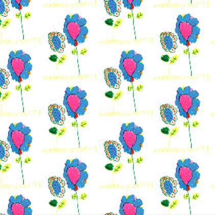 Mira's Flowers Wallpaper - Sample