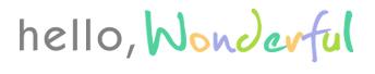 Hello Wonderful Blog Feature Custom Kids Blankets Kids Art MJD