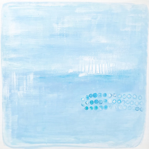 SOLD-Coastal Inspired: Original Painting 3/9