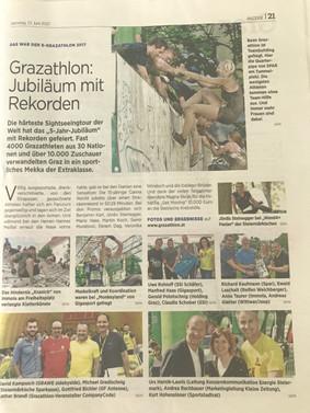 Grazathlon mit neuem Teilnehmerrekord