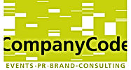 Das Companycode-Logo der Eventagentur, PR-Agentur, B2B-Agentur, Handelsagentur Companycode