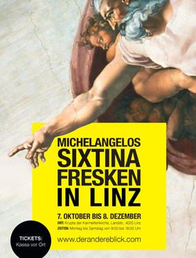 Michelangelo Exhibition auch in Linz!