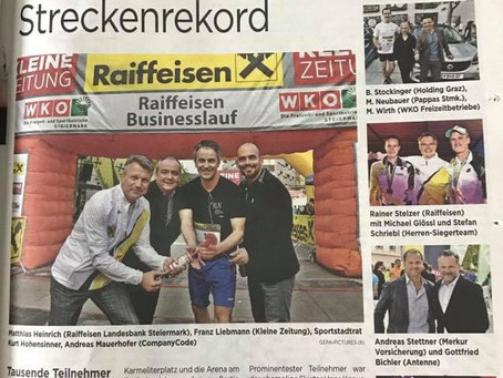 Raiffeisen Businesslauf powerd by Kleine Zeitung