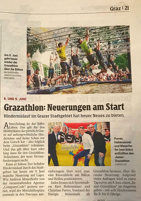 Premiere Junior Grazathlon