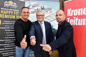 Linzathlon-Pressetermin mit Bürgermeister Klaus Luger!
