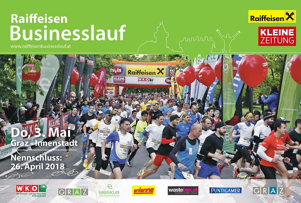 Der Raiffeisen Businesslauf in Graz wird von der Eventagentur CompanyCode veranstaltet!