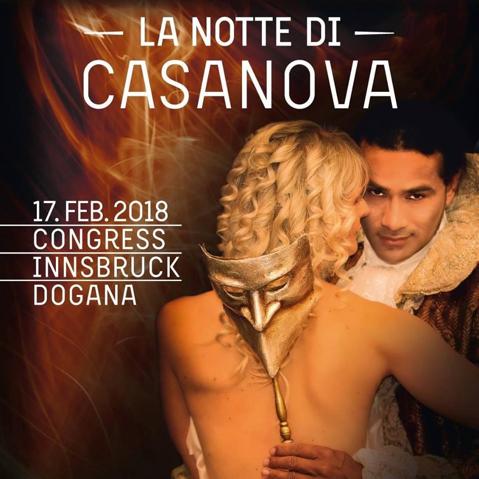 Die Grazer Agentur Companycode veranstaltet die Veranstaltung die Nacht des Casanovas in Inssbruck. Companycode
