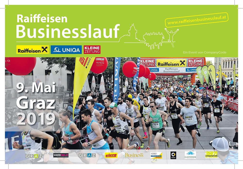 Raiffeisen Businesslauf der Eventagentur CompanyCode aus Graz