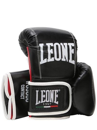 Boxhandschuhe aus Faux-Leder