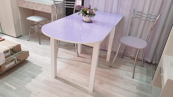 Стол пристенный, раздвижной выставочный образец