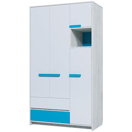 Шкаф трехдверный «Бриз»