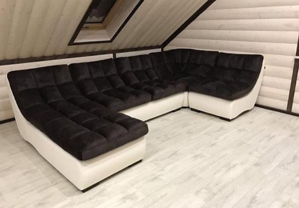 "Модульный диван ""Амстердам"" угол 90"