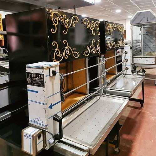 Automatic Horizontal Shawarma Doner Kebab Grill Machine Bbq