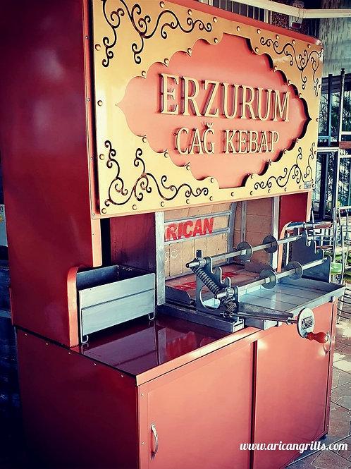Charcoal Horizontal Doner Kebab Machine (150cm)