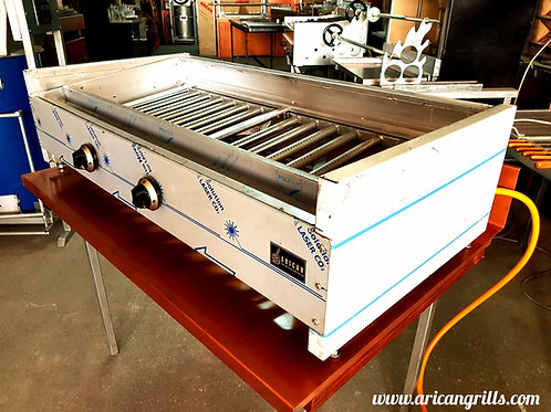 Gas & Lava Stone Grill Gas Barbecue