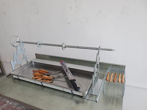 Horizontal Shawarma Doner Mechanisms and Apparatus -100cm-