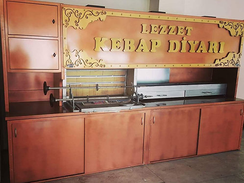 Horizontal Doner Kebab Machine