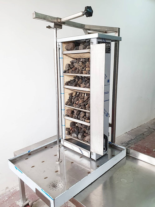 Gas&Lava Stone Vertical Shawarma Doner Kebab Machine