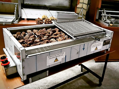 Gas & Lava Stone Grill Barbecue