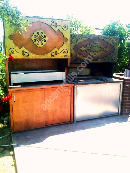 Charcoal Grills Barbecue Mechine