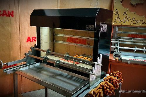 Charcoal Portable Horizontal Kebab Mechanism