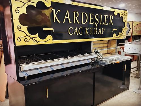 Horizontal Doner Kebab Grill Machine