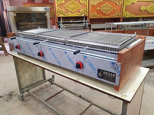 Gas & Lava Stone Grill Barbecue Copper