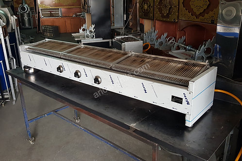 Gas and Lava Stone Grill BBQ