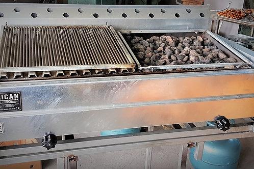 Gas & Lava Stone Grill/Barbecue