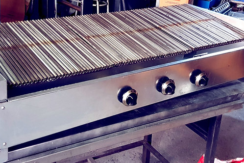 Gas and Lava Stone Grill