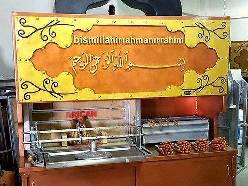 Doner Gyros Horizontal Shawarma Kebab Machine