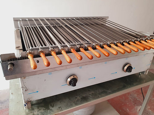 Automatic Lava Stone Gas or Charcoal Grill