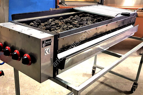 Gas and Lava Rock Grill