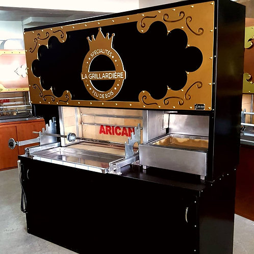 Charcoal Doner Gyros Automatic and Grill Bbq